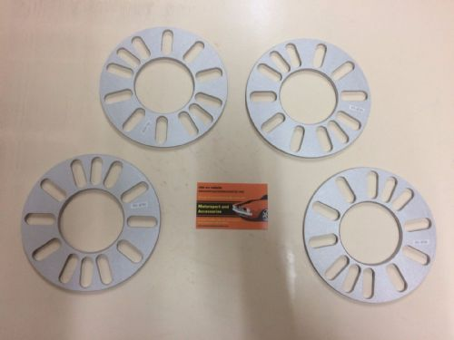 WHEEL SPACERS 5mm x4 - ALLOY WHEEL SPACERS 4 AND 5 STUD